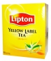 Чай Lipton Yellow Label (черный, 100пак/уп)